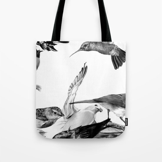 A Volery of Birds Tote Bag