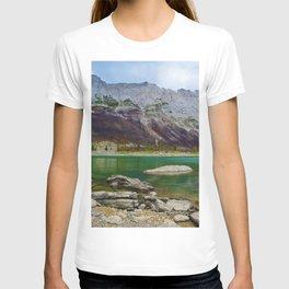 Medicine Lake in Jasper National Park, Canada T-shirt