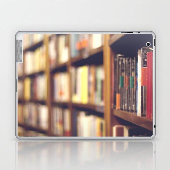 Bookstore Laptop & iPad Skin