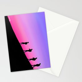 The Old Guard Marches On Stationery Cards