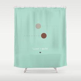 {Spotty Tales - Hansel + Gretel} Shower Curtain