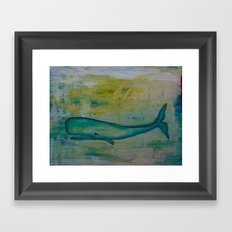 Whale Of A Time Framed Art Print