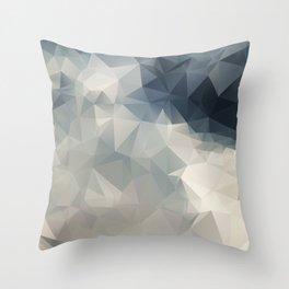 LOWPOLY GEOMETRIC SKY Throw Pillow