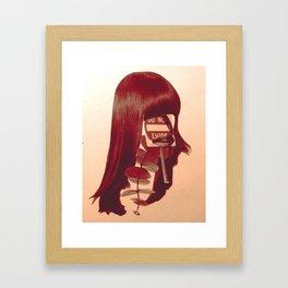 Keep out Framed Art Print