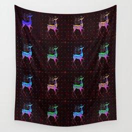 REINDEER Pattern Wall Tapestry