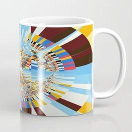 Midday sun on a mountain top Coffee Mug