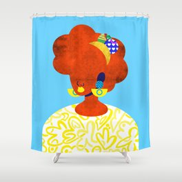 Earrings No. 1 Shower Curtain