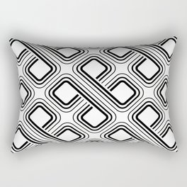 modern pattern geometri square Rectangular Pillow