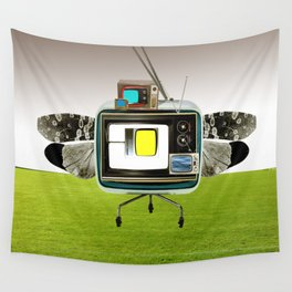 the truth is dead · the flying circus Wall Tapestry