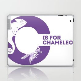 C is for Chameleon - Animal Alphabet Series Laptop & iPad Skin