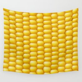 Corn Cob Background Wall Tapestry