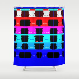 Electric Company Shower Curtain