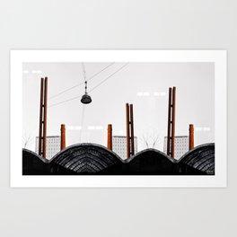 WANDERING LOST Art Print