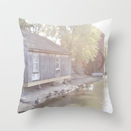 Small Town America - Jersey Style Throw Pillow