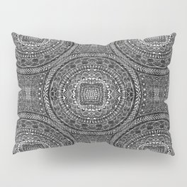 Tangled Mandala Pattern Pillow Sham