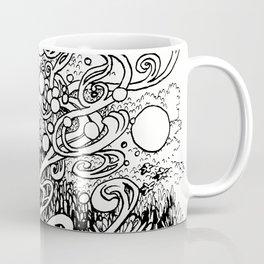 Epiphycadia I: Alpine b+w Coffee Mug