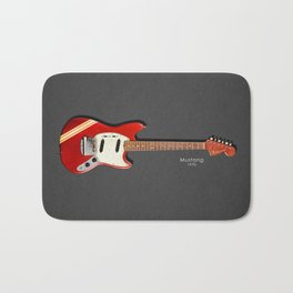 The 1970 Mustang Guitar Bath Mat