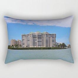 Sunshine State Sanctuary I Rectangular Pillow