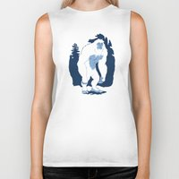 yeti Biker Tanks featuring Yeti by Rachel Young