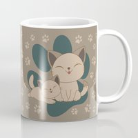 mew Mugs featuring Mama, Mew...Mew... by HK Chik