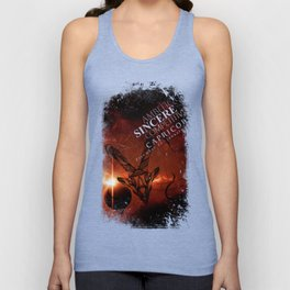 Capricorn-Ambitious, Sincere and Competitive Unisex Tank Top