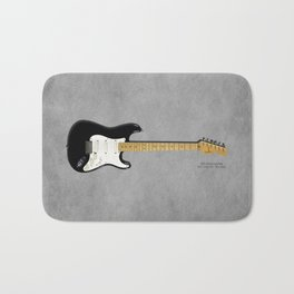 Stratocaster Blackie 1977 Bath Mat