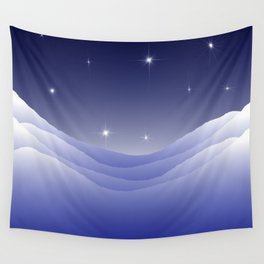 Arctic night Wall Tapestry