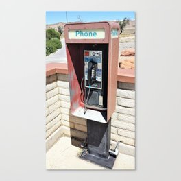 Where have all the pay phones gone? #1 Canvas Print