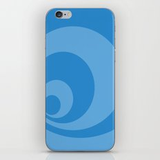 Abstract pattern - blue. iPhone Skin