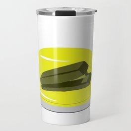 Stapler In Jello, Office Prank For The Brave Design, Original Funny Gift Idea, Dwight Best Quote Fro Travel Mug
