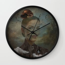 Birder Wall Clock