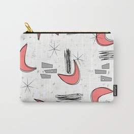 Boomerangs in Pink Carry-All Pouch