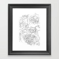 The Flowers Framed Art Print