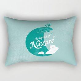 Legend of Nazaré Rectangular Pillow