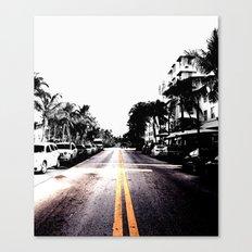pavement Canvas Print