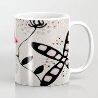 rio Mugs featuring RIO 004 by Maca Salazar