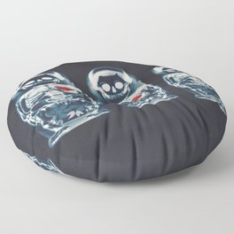 Nesting Doll X-Ray Floor Pillow