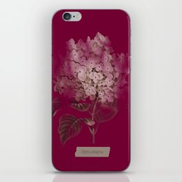 HYDRANGEA 2 iPhone Skin
