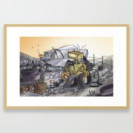 Mute Framed Art Print