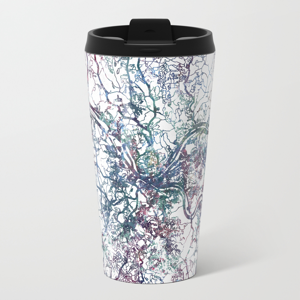 Pittsburgh Map Travel Cup TRM3187577