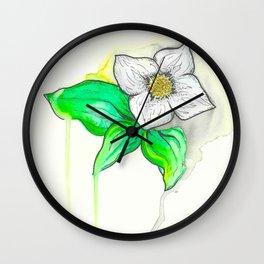 Bunchberry Wall Clock