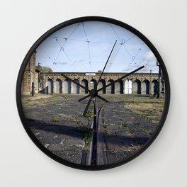 Old Tramstation - Depot - Berlin - Pankow Wall Clock