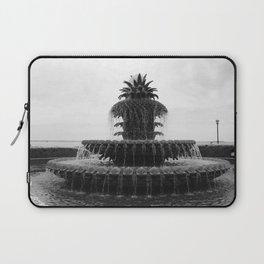 Pineapple Fountain Charleston River Park Laptop Sleeve