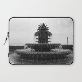 Pineapple Fountain Charleston River Park Laptop Sleeve