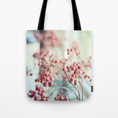 Rose Hips in a Window Still Life Autumn Botanical Tote Bag