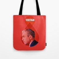 vertigo Tote Bags featuring Vertigo  by Oh! My darlink