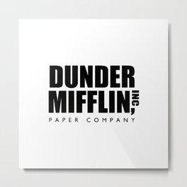 Paper Company Metal Print