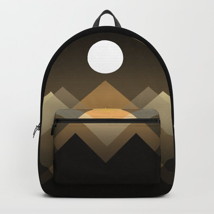 Path between hills Backpack