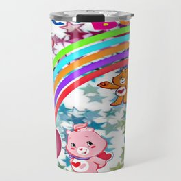 Care Bears Rainbow and Stars Travel Mug
