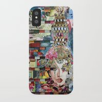 marie antoinette iPhone & iPod Cases featuring Marie Antoinette by Katy Hirschfeld